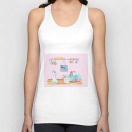 sorry I´m busy Unisex Tank Top