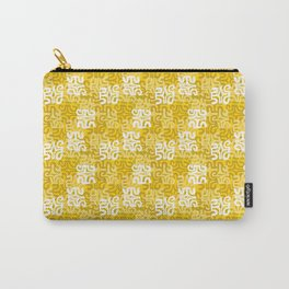 Swanky Mo Yellow Carry-All Pouch