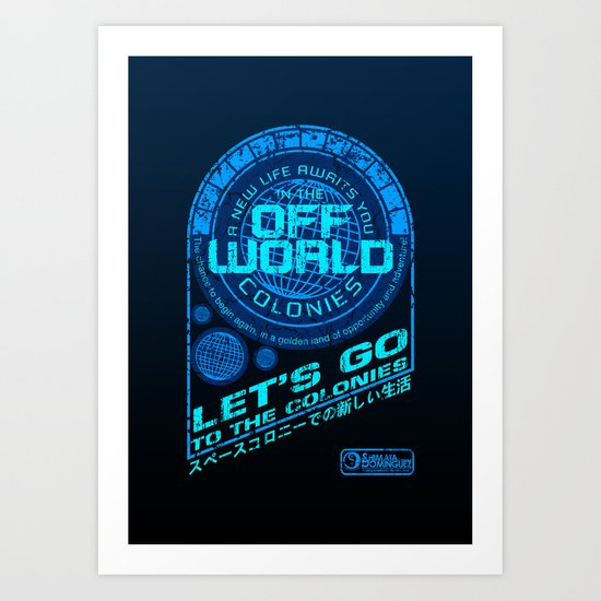 Off World Art Print