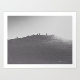 That Seattle Hill. Art Print