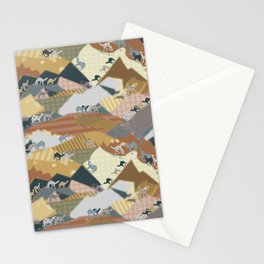 Deserts Travelers Stationery Cards