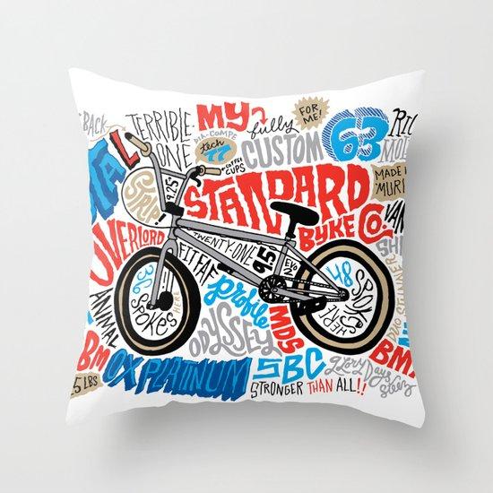 All My Bikes: STA-L Throw Pillow
