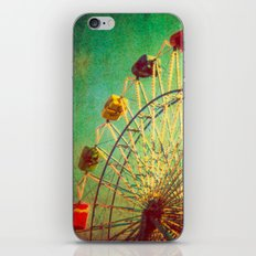 The Unbearable Elation of Summer carnival ferris wheel  iPhone & iPod Skin