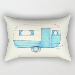Caravan Palace Rectangular Pillow