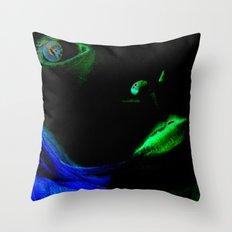 Face Art Throw Pillow
