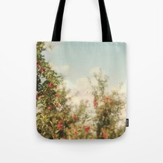 Orchard Blue Tote Bag