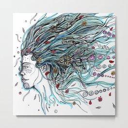 Flowing Dreams Metal Print