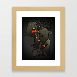 Act Natural Framed Art Print