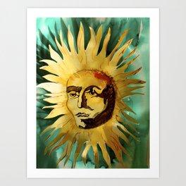 Ugly Suns Art Print