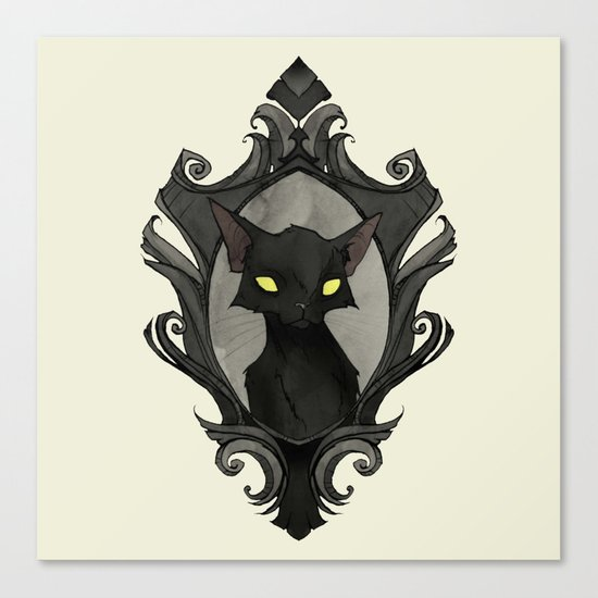 The Cats of Ulthar Canvas Print