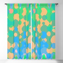 Asymmetry collection: imagination Blackout Curtain