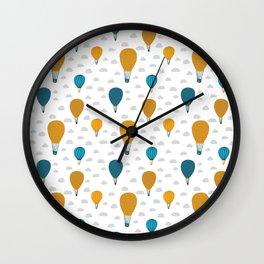 Little explorer patterns Wall Clock