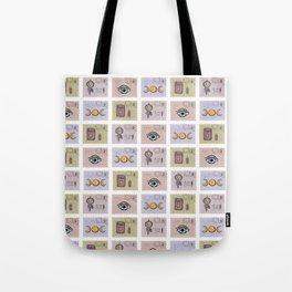 Esoteric Magic Postage Stamps Tote Bag