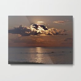 Shadows from Above Metal Print
