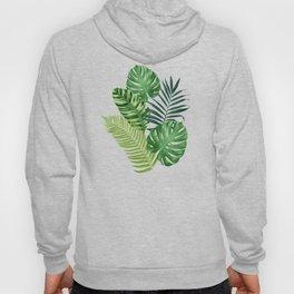 Tropical leaves III Hoody