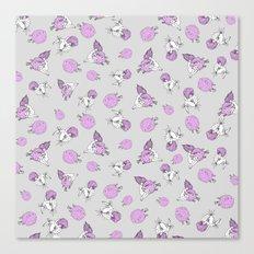Pufferfish Love Canvas Print