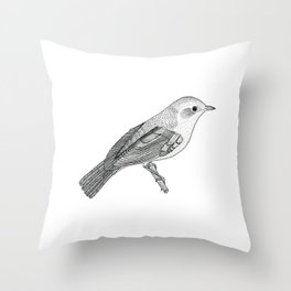 Nightingale Throw Pillow