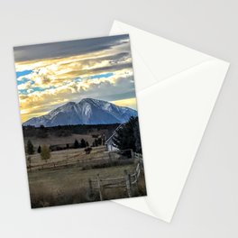 Morning Glory - Mt. Sopris - Glenwood Springs Stationery Cards