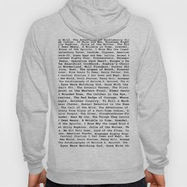 Banned Literature Internationally Print Hoody