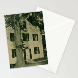 Vintage Photographic Print - Port Towns of Penobscot Bay (1922) - Small House, Belfast, Maine Stationery Cards