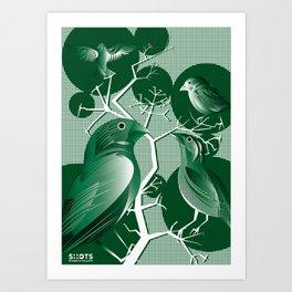 Natural Selection Art Print