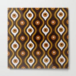 'Cosmic' Retro 1970's Style Design Metal Print