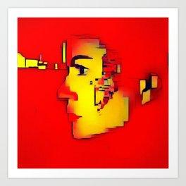 Power of the Mind  Art Print