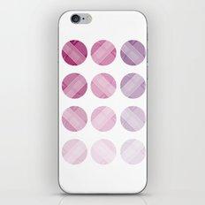Line Round iPhone & iPod Skin