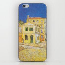 Vincent's House in Arles (The Yellow House) - Van Gogh iPhone Skin