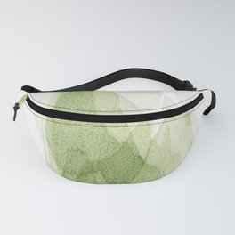 transparent 3 - green Fanny Pack