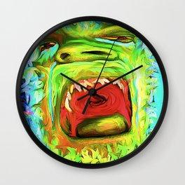 Scream Because It Feels Good Wall Clock
