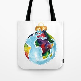 Globe Bauble Tote Bag