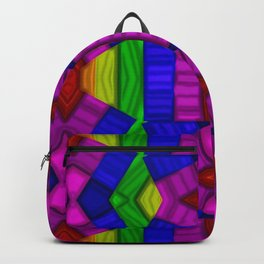 Abstract lights and shadows... Backpack