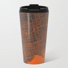 Toronto Map Metal Travel Mug
