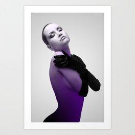 Purple 2 Art Print