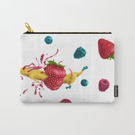 Weirdly Refreshing Mutt Carry-All Pouch