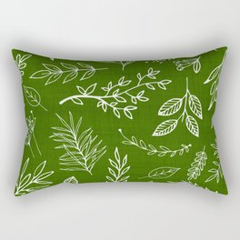 Emerald Forest Rectangular Pillow