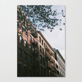 A Warm Spring Afternoon in Manhattan Canvas Print