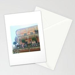 Pink Balcony Stationery Cards