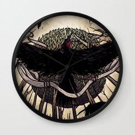 Yatagarasu, the Dark Sun Wall Clock