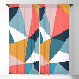 Modern Geometric 35 Blackout Curtain