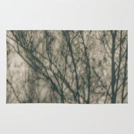 Shadows of Winter Foliage Rug
