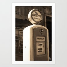 Timeless Pump Art Print