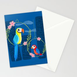 Squeaky Beakies With Freaky Tikis Stationery Cards