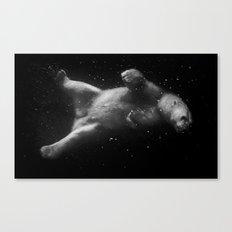 Polar Bear Dream Canvas Print