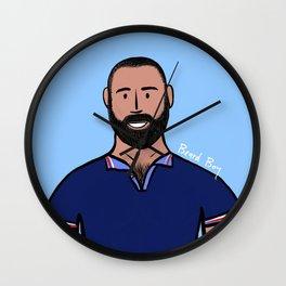 Beard Boy: David Ruiz Wall Clock