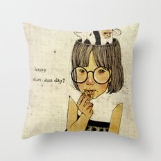Happy April 1 st! Throw Pillow