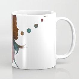 Talking Bubble (colorful silhouette) Coffee Mug