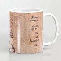 mulan Mugs featuring mulan  quote by studiomarshallarts