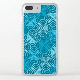 Op Art 152 Clear iPhone Case